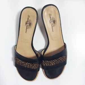 Tommy Bahama Slide Sandals Size 7
